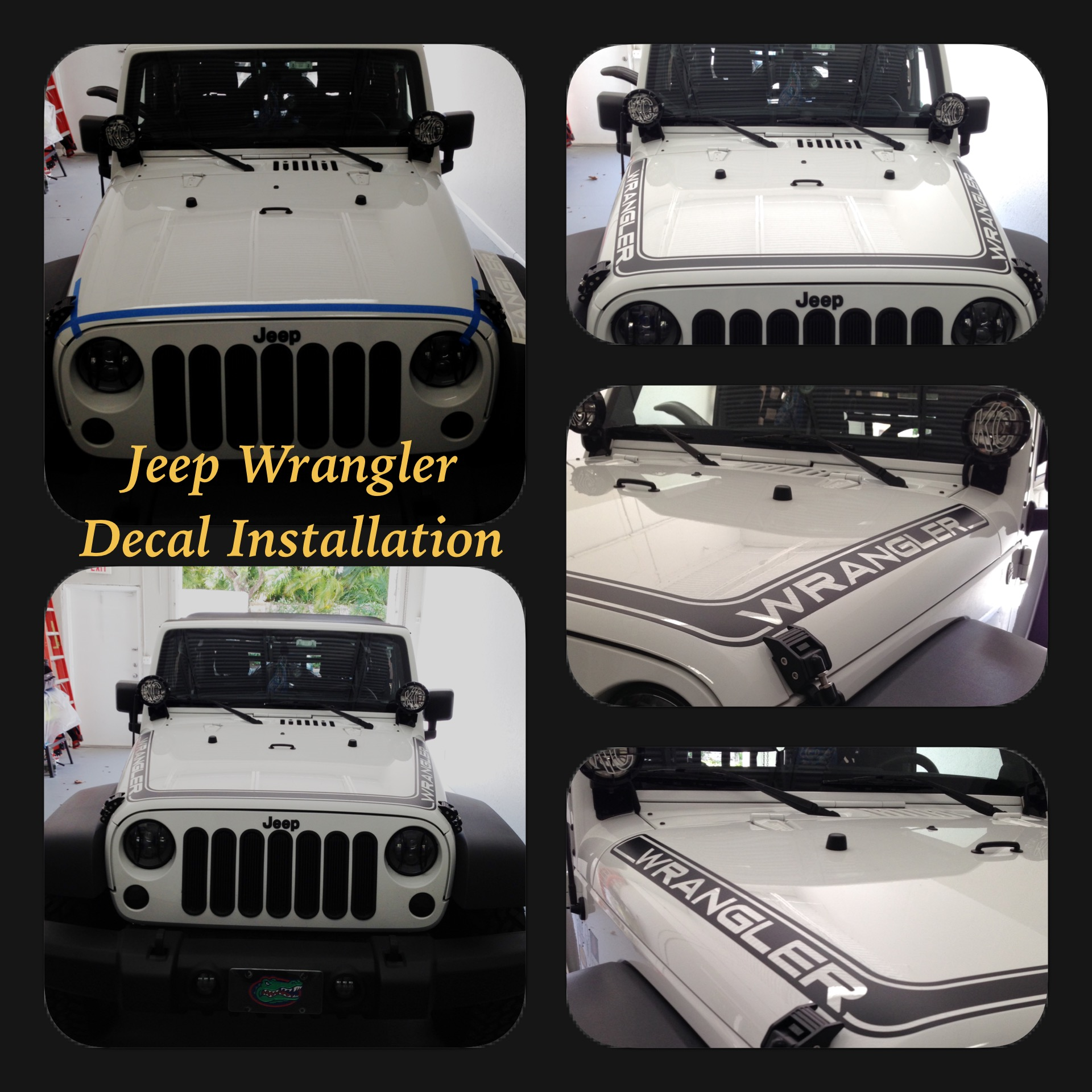 Jeep Wrangler Decal - Tint Magic Window Tint Coral Springs