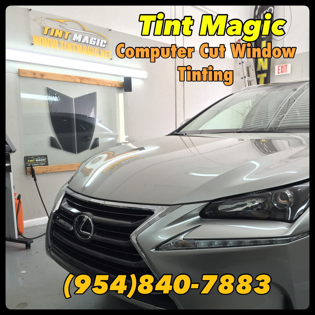 Lexus NX at Tint Magic Window Tint Computer Cut
