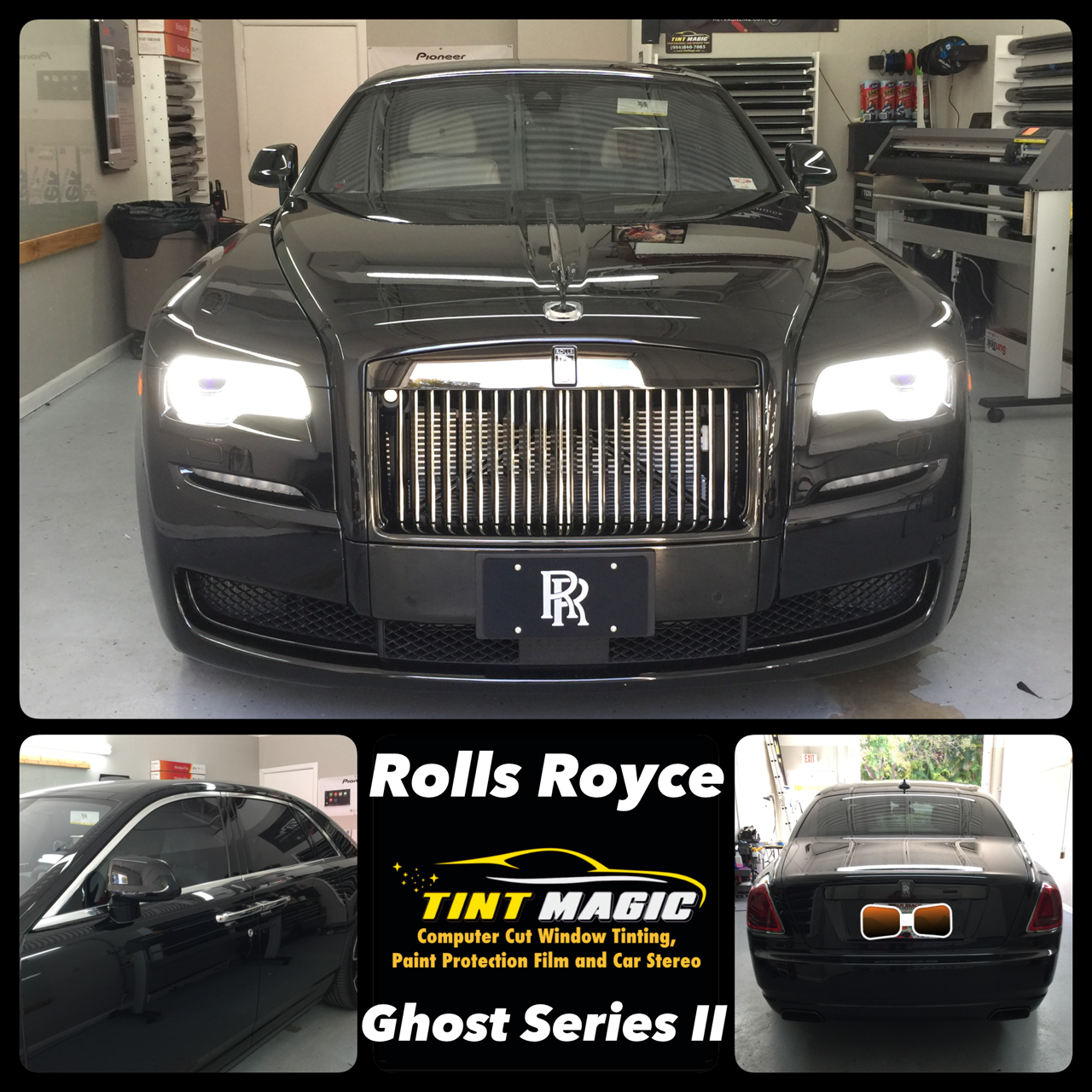 Rolls Royce at Tint Magic Window Tinting Coral Springs