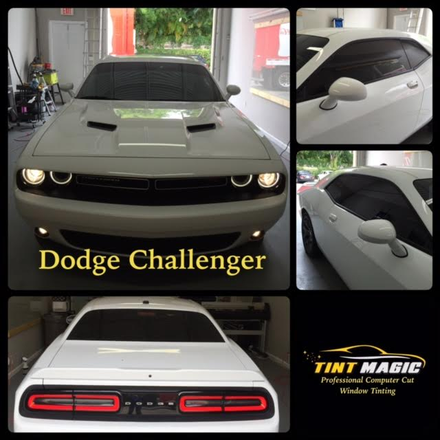 Dodge Challenger Window Tinting at Tint Magic Window Tint Coral Springs