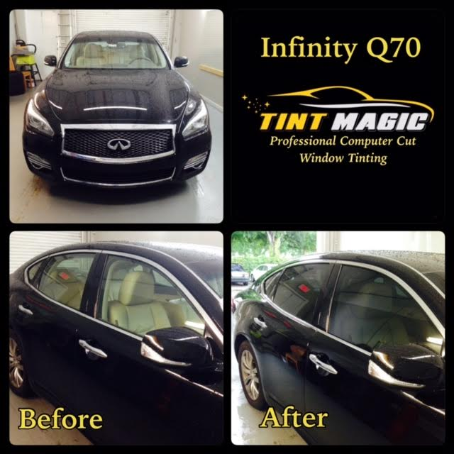 Infiniti Q70 Window Tinting at Tint Magic Window Tint Coral Springs