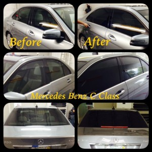 Mercedes benz window tint tint magic window tinting for Mercedes benz window tint