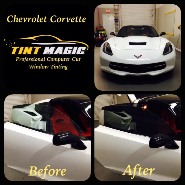Chevrolet Corvette Window Tinting at Tint Magic Window Tint Coral Springs