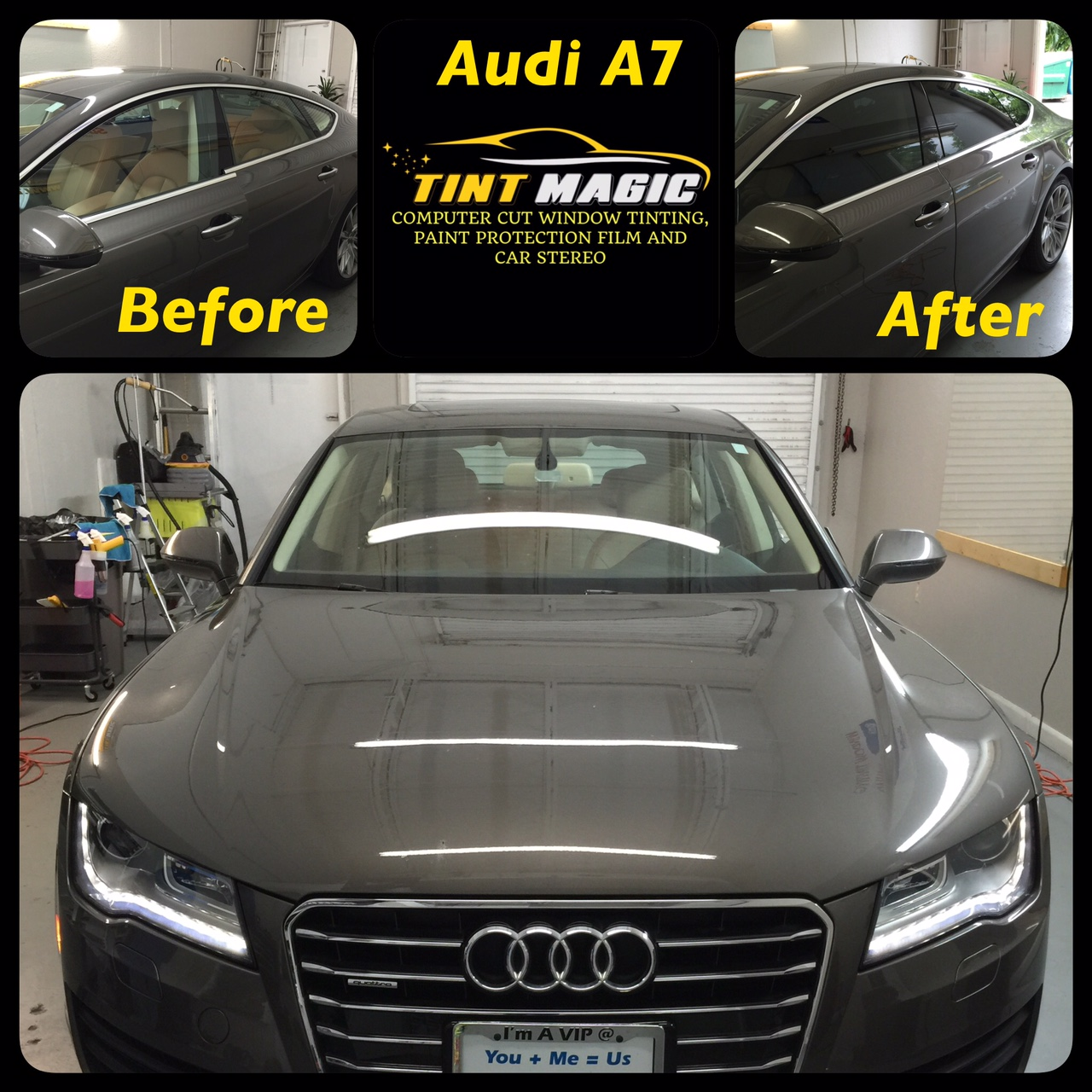 Audi A7 at Tint Magic Window Tinting Coral Springs