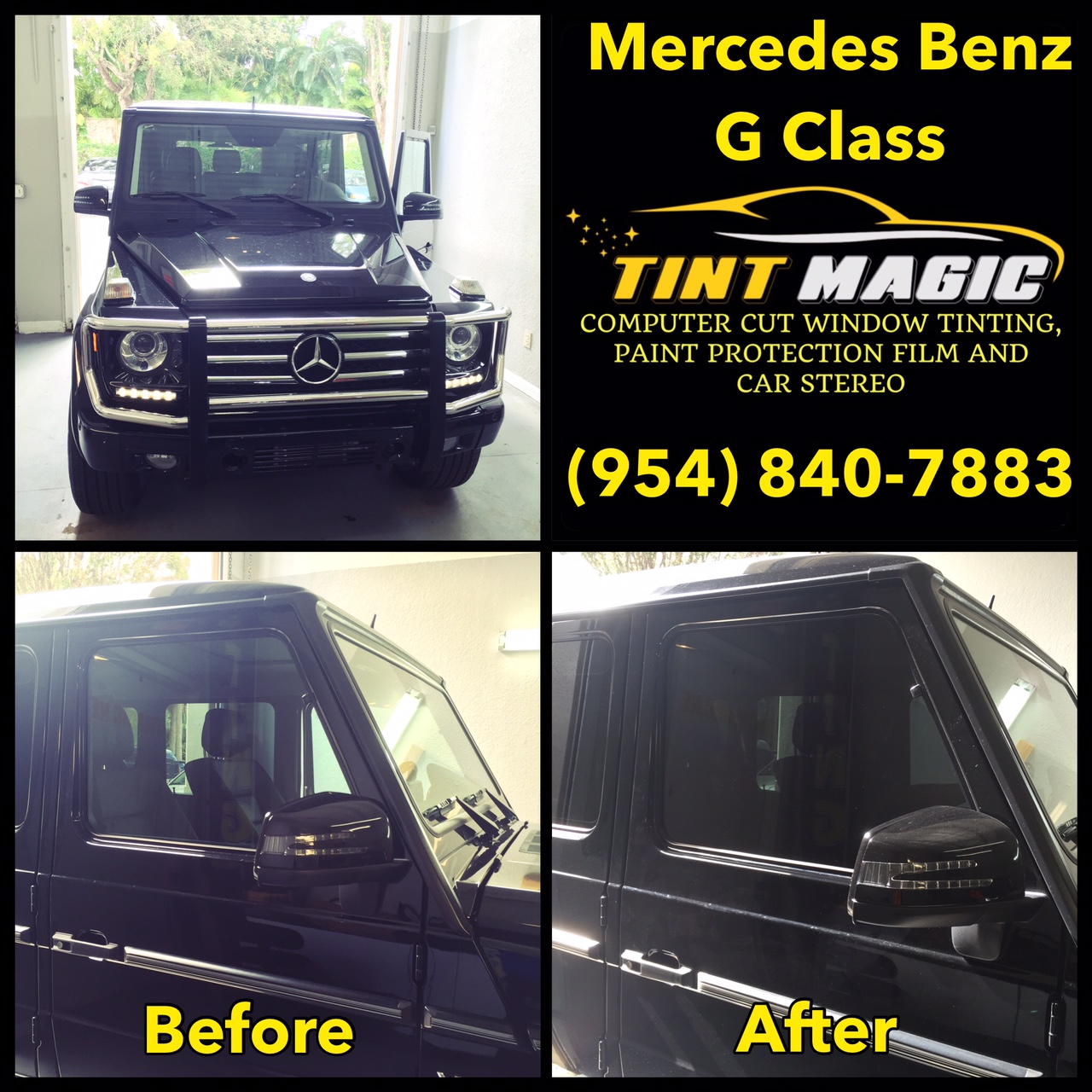 Mercedes Benz G Class at Tint Magic Window Tinting